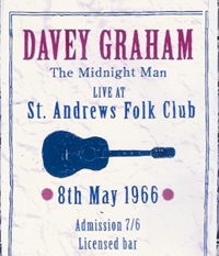 A typical folk club poster in the 70's